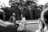 Photograph of bride and groom signing marriage register at wedding at Worrowing at Jervis Bay on the South Coast of NSW