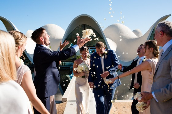 photograph of couple at destination wedding in south africa